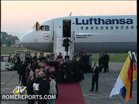 Pope's trip to native Germany ends