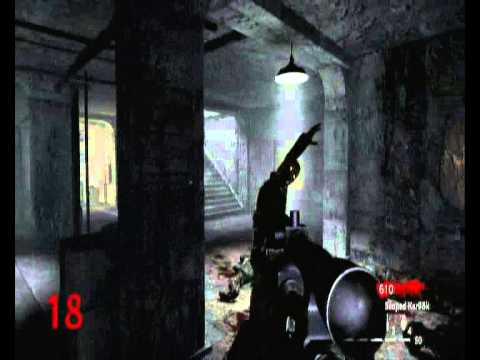 CoD 5 Zombies Narcht Der Untoten Part 3