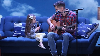 getlinkyoutube.com-Adorable Singing Father-Daughter Duo Performs 'You've Got a Friend in Me'!