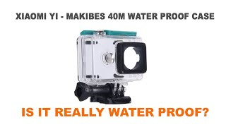 getlinkyoutube.com-Is the Makibes Waterproof Case for Xiaomi Yi really WATERPROOF?
