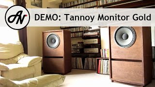 "getlinkyoutube.com-Tannoy Monitor Gold 15"" - 1968 Vintage Dual Concentric Speakers"
