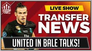 Man Utd In Advanced Gareth Bale Transfer Talks?