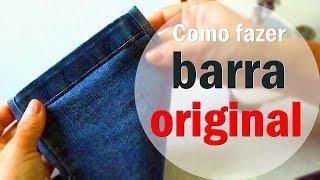 getlinkyoutube.com-Barra Original simples calça jeans #1 Dicas da Gê