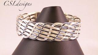 getlinkyoutube.com-Close wire woven bracelet