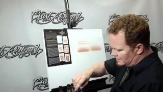 getlinkyoutube.com-How to Airbrush w/ Createx Wicked Flesh Tones w/ Steve Driscoll