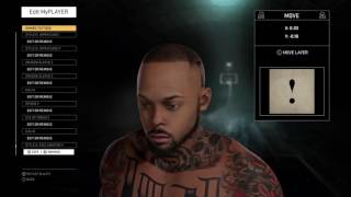 getlinkyoutube.com-NBA 2K16 Teardrop tattoo tutorial