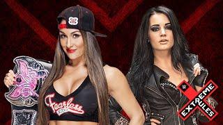WWE Extreme Rules Promo 2015 - Paige vs Nikki Bella