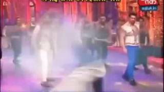 Glimpse of Aham Sharma and Krystle D'souza performance in diwali event