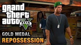 getlinkyoutube.com-GTA 5 - Mission #2 - Repossession [100% Gold Medal Walkthrough]