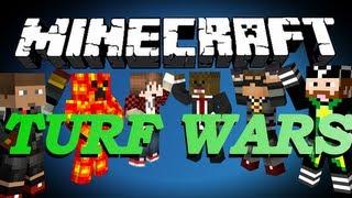 getlinkyoutube.com-BRAND NEW Minecraft Turf Wars Minigame w/ SkyDoesMinecraft, BajanCanadian and Friends!