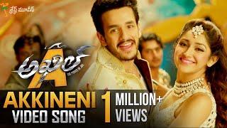 getlinkyoutube.com-Akkineni Full Video Song || Akhil Movie Video Songs || Akhil Akkineni, Sayyeshaa