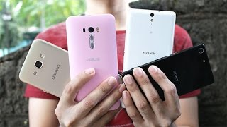 getlinkyoutube.com-Sony Xperia M5 VS Xperia C5, Galaxy A8, Zenfone Selfie Camera Review