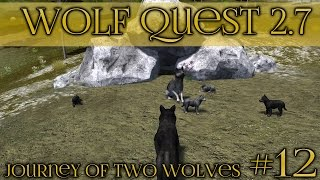 getlinkyoutube.com-Coyote Raid at the Wolf Den!! || Wolf Quest 2.7 - Brothers Journey || Episode #12