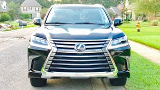 getlinkyoutube.com-MY NEW 2016 Lexus LX 570 Full Review / Start Up / Exhaust /Short Drive