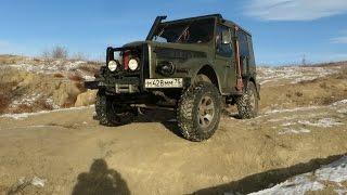 getlinkyoutube.com-ГАЗ-69 с блокировками БТР-60 на бездорожье (GAZ-69 & Off-road)