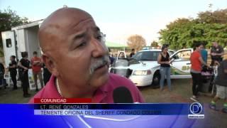 Torneo de fútbol organizado para unir a la comunidad con la policía