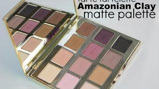 getlinkyoutube.com-Tartelette Amazonian Clay Matte Palette Review & Swatches| Bailey B.