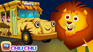 getlinkyoutube.com-Wheels On The Bus | Kenya Jungle Book Wildlife Safari | Wild Animals and Animal Sounds | ChuChu TV