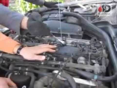 Как снять форсунки.How to remove the Fuel Injector.Entfernen von Injektoren.