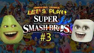 getlinkyoutube.com-Super Smash Bros #3 Pear vs Marshmallow - TOOTY FRUITY BOOTY