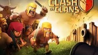 getlinkyoutube.com-tuto fair une base clash of clans HDV4