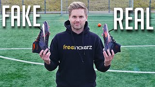 getlinkyoutube.com-FAKE vs REAL: Nike Mercurial Superfly CR7 IV - Test & Review
