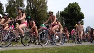 getlinkyoutube.com-Naked Bike Ride, Vancouver B.C. - Saturday, June 15th. 2013