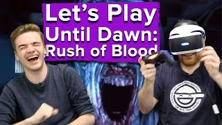 getlinkyoutube.com-Let's Play Until Dawn: Rush of Blood - Ian and Chris get freaked out by clowns