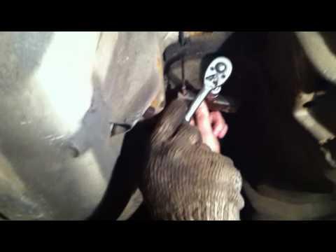 Замена выхлопа и троса ручника OPEL OMEGA B 18+)