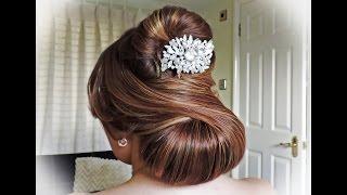 getlinkyoutube.com-Elegant Bridal Hairstyle
