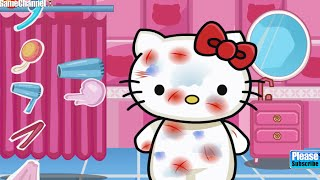 "Hello Kitty Care Online Free Flash Game Videos GAMEPLAY ""Girl Games, Care Games,"