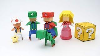 getlinkyoutube.com-Origami Mario (Jo Nakashima)
