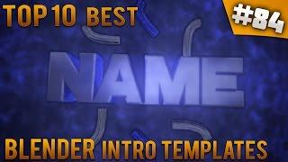 getlinkyoutube.com-TOP 10 BEST Blender intro templates #84 (Free download)
