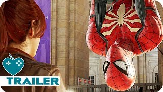 Marvel's Spider-Man Story Trailer (2018) PS4 Game