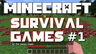 getlinkyoutube.com-Minecraft Survival Games - Part 1 (Hosted by iHasCupQuake)