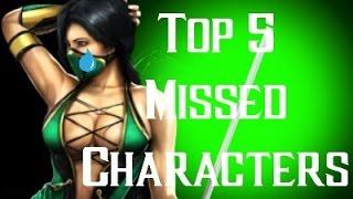 getlinkyoutube.com-Top 5 Missed Mortal Kombat Characters