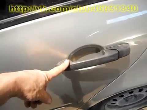 Калина Когда болтаются дверные ручки. Кузовной ремонт.