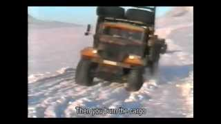 getlinkyoutube.com-Trucking in North Russia - battle for survival in ultimate cold