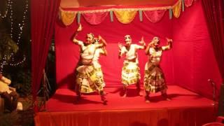 getlinkyoutube.com-Chandni Instrumental Dance performance Kali pujo2014