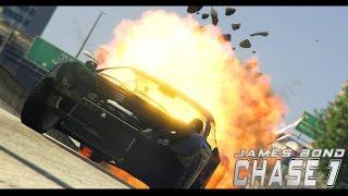 getlinkyoutube.com-GTA V James Bond Chase #1