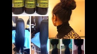 6 Month Hair Growth Challenge 2015 | 6 inches in 6 months