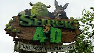 NEW - Shrek 4D Pre-Show/Main Theater Lighting  - Universal Studios Hollywood