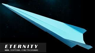 getlinkyoutube.com-Best Paper Planes: How to make a paper airplane that Flies   Eternity
