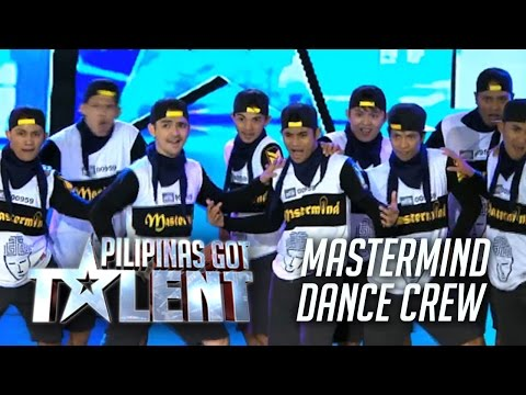 The Amazing Mastermind Dance Crew On Pilipinas Got Talent Season 5!
