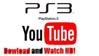 getlinkyoutube.com-How to Watch / Download HD YouTube on PS3!