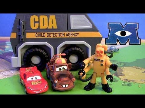 Sally Captured by CDA VAN Micro Drifters Monsters University Meets CARS 2 Disney Pixar toys