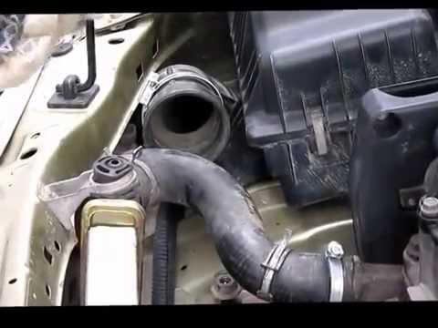 Как заменить опору двигателя на Daewoo Nexia.