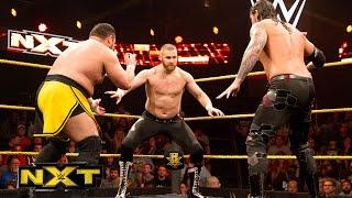 getlinkyoutube.com-Sami Zayn vs. Baron Corbin vs. Samoa Joe – NXT Title No. 1 Contender's Match: WWE NXT, Jan. 27, 2016