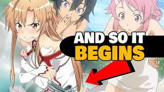 getlinkyoutube.com-Everything Wrong With: Sword Art Online (Aincrad Arc)