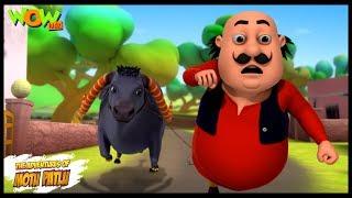 Icchadhari Bhains   Motu Patlu In Hindi   3D Animation Cartoon   As On Nickelodeon